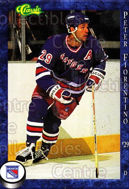 1994-95 Binghamton Rangers #3 Peter Fiorentino<br/>3 In Stock - $3.00 each - <a href=https://centericecollectibles.foxycart.com/cart?name=1994-95%20Binghamton%20Rangers%20%233%20Peter%20Fiorentin...&quantity_max=3&price=$3.00&code=2170 class=foxycart> Buy it now! </a>