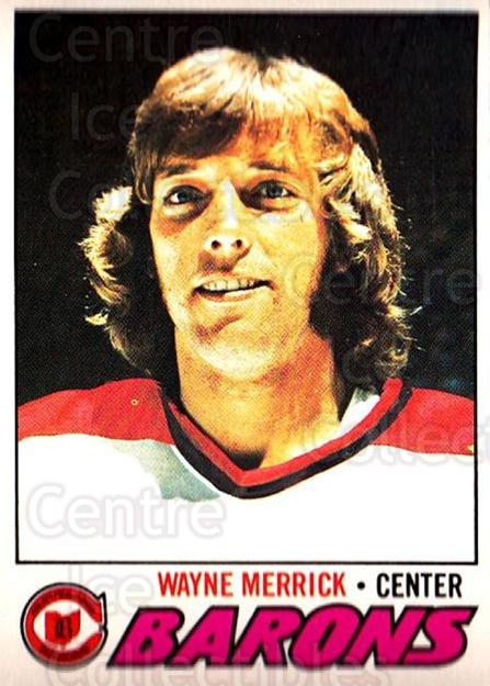 1977-78 O-pee-chee #176 Wayne Merrick<br/>1 In Stock - $2.00 each - <a href=https://centericecollectibles.foxycart.com/cart?name=1977-78%20O-pee-chee%20%23176%20Wayne%20Merrick...&price=$2.00&code=217130 class=foxycart> Buy it now! </a>