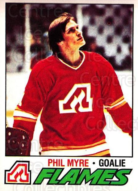 1977-78 O-pee-chee #193 Phil Myre<br/>1 In Stock - $2.00 each - <a href=https://centericecollectibles.foxycart.com/cart?name=1977-78%20O-pee-chee%20%23193%20Phil%20Myre...&quantity_max=1&price=$2.00&code=217147 class=foxycart> Buy it now! </a>