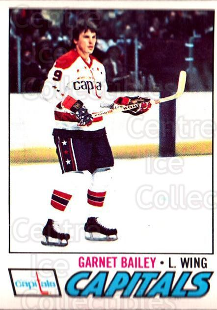 1977-78 O-pee-chee #196 Garnet Bailey<br/>2 In Stock - $2.00 each - <a href=https://centericecollectibles.foxycart.com/cart?name=1977-78%20O-pee-chee%20%23196%20Garnet%20Bailey...&quantity_max=2&price=$2.00&code=217150 class=foxycart> Buy it now! </a>