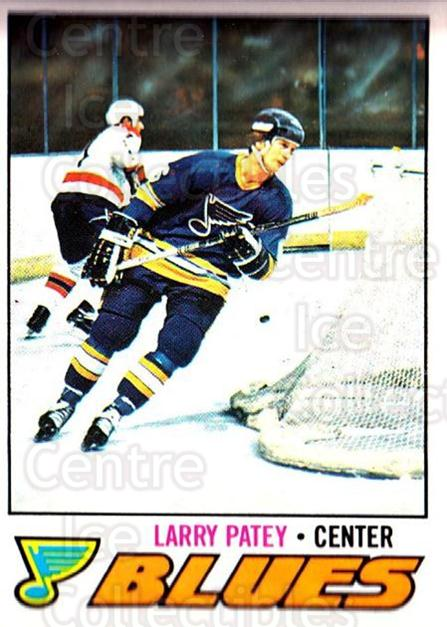 1977-78 O-pee-chee #199 Larry Patey<br/>2 In Stock - $2.00 each - <a href=https://centericecollectibles.foxycart.com/cart?name=1977-78%20O-pee-chee%20%23199%20Larry%20Patey...&quantity_max=2&price=$2.00&code=217153 class=foxycart> Buy it now! </a>