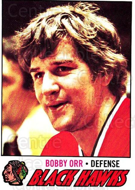 1977-78 O-pee-chee #251 Bobby Orr<br/>1 In Stock - $30.00 each - <a href=https://centericecollectibles.foxycart.com/cart?name=1977-78%20O-pee-chee%20%23251%20Bobby%20Orr...&price=$30.00&code=217205 class=foxycart> Buy it now! </a>