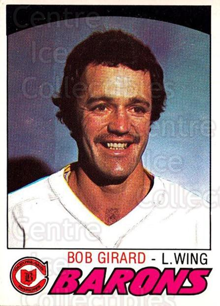 1977-78 O-pee-chee #255 Bob Girard<br/>1 In Stock - $2.00 each - <a href=https://centericecollectibles.foxycart.com/cart?name=1977-78%20O-pee-chee%20%23255%20Bob%20Girard...&price=$2.00&code=217209 class=foxycart> Buy it now! </a>