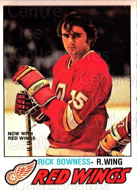 1977-78 O-pee-chee #265 Rick Bowness<br/>1 In Stock - $2.00 each - <a href=https://centericecollectibles.foxycart.com/cart?name=1977-78%20O-pee-chee%20%23265%20Rick%20Bowness...&quantity_max=1&price=$2.00&code=217219 class=foxycart> Buy it now! </a>