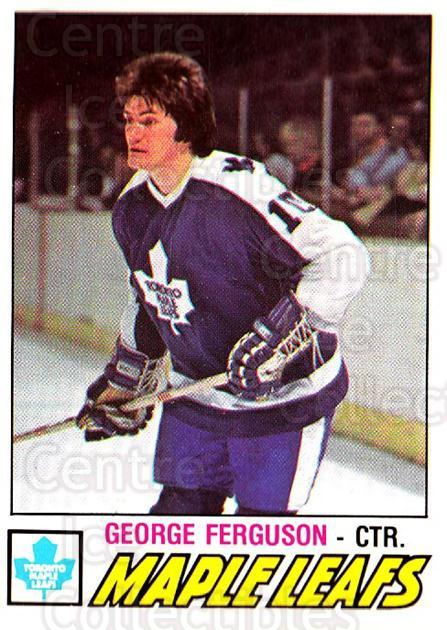 1977-78 O-pee-chee #266 George Ferguson<br/>2 In Stock - $2.00 each - <a href=https://centericecollectibles.foxycart.com/cart?name=1977-78%20O-pee-chee%20%23266%20George%20Ferguson...&quantity_max=2&price=$2.00&code=217220 class=foxycart> Buy it now! </a>