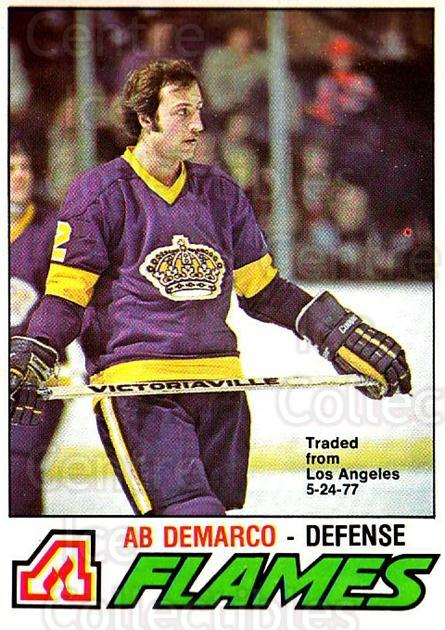 1977-78 O-pee-chee #283 Ab DeMarco<br/>3 In Stock - $2.00 each - <a href=https://centericecollectibles.foxycart.com/cart?name=1977-78%20O-pee-chee%20%23283%20Ab%20DeMarco...&quantity_max=3&price=$2.00&code=217237 class=foxycart> Buy it now! </a>