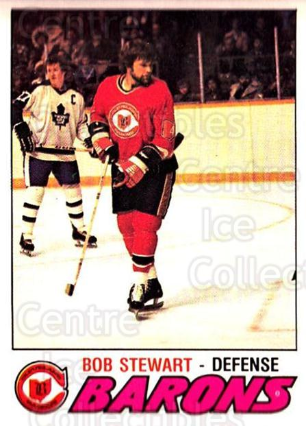 1977-78 O-pee-chee #299 Bob Stewart<br/>1 In Stock - $2.00 each - <a href=https://centericecollectibles.foxycart.com/cart?name=1977-78%20O-pee-chee%20%23299%20Bob%20Stewart...&price=$2.00&code=217253 class=foxycart> Buy it now! </a>