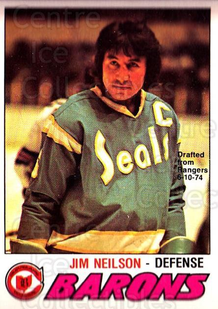 1977-78 O-pee-chee #317 Jim Neilson<br/>1 In Stock - $2.00 each - <a href=https://centericecollectibles.foxycart.com/cart?name=1977-78%20O-pee-chee%20%23317%20Jim%20Neilson...&price=$2.00&code=217271 class=foxycart> Buy it now! </a>