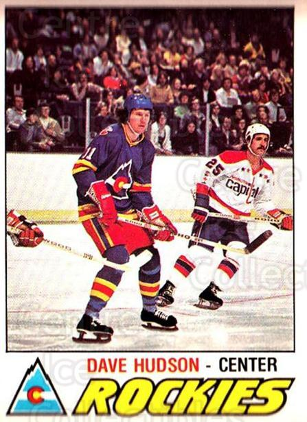 1977-78 O-pee-chee #343 Dave Hudson<br/>1 In Stock - $2.00 each - <a href=https://centericecollectibles.foxycart.com/cart?name=1977-78%20O-pee-chee%20%23343%20Dave%20Hudson...&quantity_max=1&price=$2.00&code=217297 class=foxycart> Buy it now! </a>