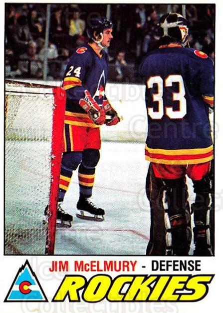 1977-78 O-pee-chee #352 Jim McElmury<br/>3 In Stock - $2.00 each - <a href=https://centericecollectibles.foxycart.com/cart?name=1977-78%20O-pee-chee%20%23352%20Jim%20McElmury...&quantity_max=3&price=$2.00&code=217306 class=foxycart> Buy it now! </a>