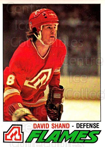 1977-78 O-pee-chee #355 David Shand<br/>2 In Stock - $2.00 each - <a href=https://centericecollectibles.foxycart.com/cart?name=1977-78%20O-pee-chee%20%23355%20David%20Shand...&quantity_max=2&price=$2.00&code=217309 class=foxycart> Buy it now! </a>