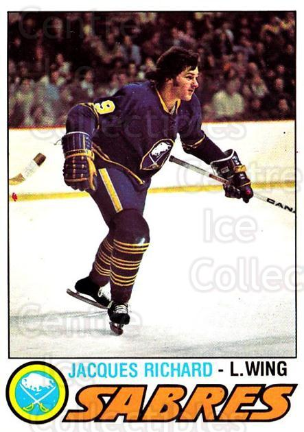 1977-78 O-pee-chee #366 Jacques Richard<br/>2 In Stock - $2.00 each - <a href=https://centericecollectibles.foxycart.com/cart?name=1977-78%20O-pee-chee%20%23366%20Jacques%20Richard...&quantity_max=2&price=$2.00&code=217320 class=foxycart> Buy it now! </a>