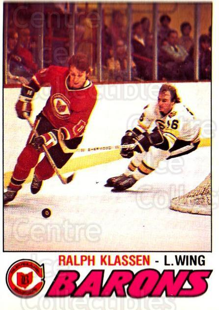 1977-78 O-pee-chee #372 Ralph Klassen<br/>1 In Stock - $2.00 each - <a href=https://centericecollectibles.foxycart.com/cart?name=1977-78%20O-pee-chee%20%23372%20Ralph%20Klassen...&price=$2.00&code=217326 class=foxycart> Buy it now! </a>