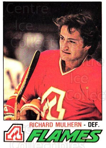 1977-78 O-pee-chee #373 Richard Mulhern<br/>3 In Stock - $2.00 each - <a href=https://centericecollectibles.foxycart.com/cart?name=1977-78%20O-pee-chee%20%23373%20Richard%20Mulhern...&quantity_max=3&price=$2.00&code=217327 class=foxycart> Buy it now! </a>
