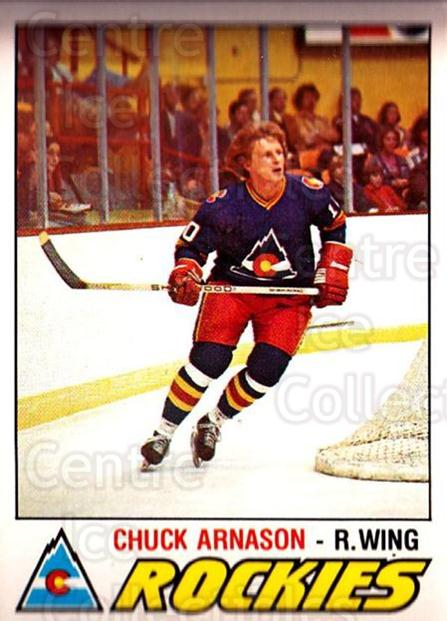 1977-78 O-pee-chee #379 Chuck Arnason<br/>1 In Stock - $2.00 each - <a href=https://centericecollectibles.foxycart.com/cart?name=1977-78%20O-pee-chee%20%23379%20Chuck%20Arnason...&quantity_max=1&price=$2.00&code=217333 class=foxycart> Buy it now! </a>