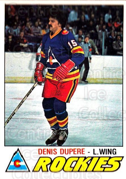 1977-78 O-pee-chee #388 Denis Dupere<br/>2 In Stock - $2.00 each - <a href=https://centericecollectibles.foxycart.com/cart?name=1977-78%20O-pee-chee%20%23388%20Denis%20Dupere...&quantity_max=2&price=$2.00&code=217342 class=foxycart> Buy it now! </a>