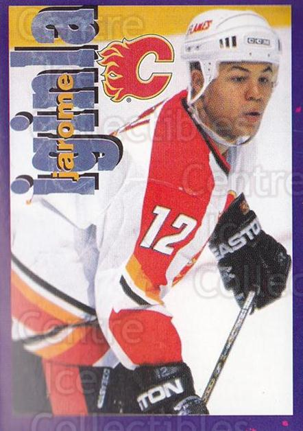 1998-99 Panini Stickers #181 Jarome Iginla<br/>6 In Stock - $2.00 each - <a href=https://centericecollectibles.foxycart.com/cart?name=1998-99%20Panini%20Stickers%20%23181%20Jarome%20Iginla...&quantity_max=6&price=$2.00&code=217473 class=foxycart> Buy it now! </a>