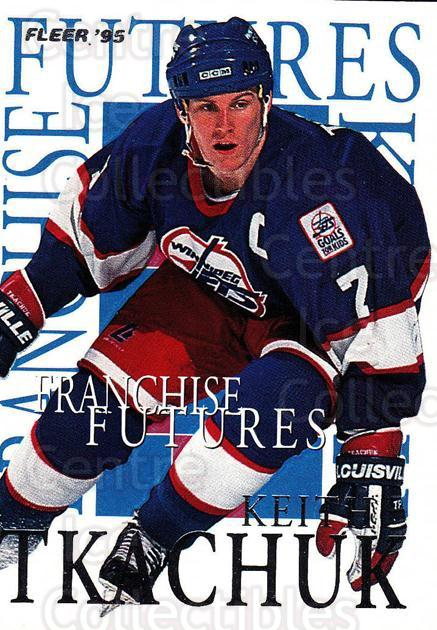 1994-95 Fleer Franchise Futures #8 Keith Tkachuk<br/>5 In Stock - $2.00 each - <a href=https://centericecollectibles.foxycart.com/cart?name=1994-95%20Fleer%20Franchise%20Futures%20%238%20Keith%20Tkachuk...&quantity_max=5&price=$2.00&code=217653 class=foxycart> Buy it now! </a>