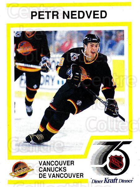 1991-92 Kraft ( Black Backs ) #11 Petr Nedved<br/>1 In Stock - $3.00 each - <a href=https://centericecollectibles.foxycart.com/cart?name=1991-92%20Kraft%20(%20Black%20Backs%20)%20%2311%20Petr%20Nedved...&quantity_max=1&price=$3.00&code=217707 class=foxycart> Buy it now! </a>