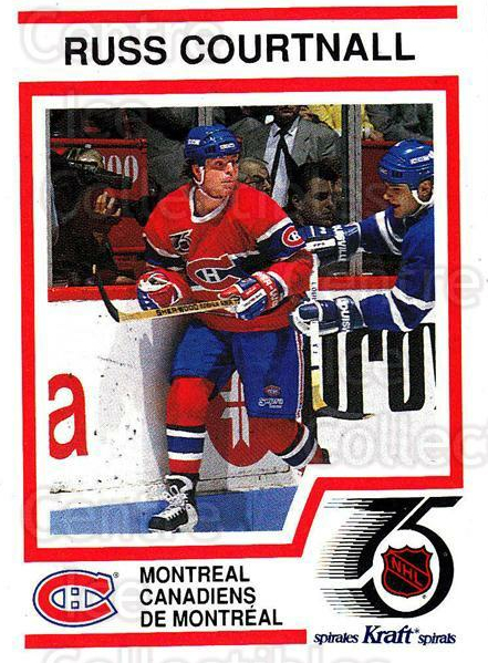 1991-92 Kraft ( Black Backs ) #49 Russ Courtnall<br/>2 In Stock - $3.00 each - <a href=https://centericecollectibles.foxycart.com/cart?name=1991-92%20Kraft%20(%20Black%20Backs%20)%20%2349%20Russ%20Courtnall...&quantity_max=2&price=$3.00&code=217745 class=foxycart> Buy it now! </a>