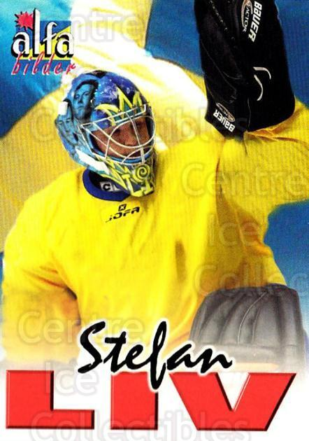 2004-05 Swedish Alfabilder Alfa Stars #7 Stefan Liv<br/>1 In Stock - $2.00 each - <a href=https://centericecollectibles.foxycart.com/cart?name=2004-05%20Swedish%20Alfabilder%20Alfa%20Stars%20%237%20Stefan%20Liv...&quantity_max=1&price=$2.00&code=217785 class=foxycart> Buy it now! </a>