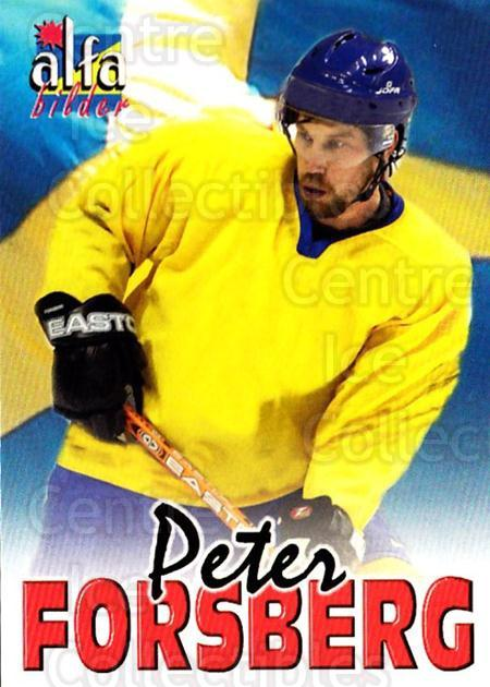 2004-05 Swedish Alfabilder Alfa Stars #21 Peter Forsberg<br/>1 In Stock - $5.00 each - <a href=https://centericecollectibles.foxycart.com/cart?name=2004-05%20Swedish%20Alfabilder%20Alfa%20Stars%20%2321%20Peter%20Forsberg...&quantity_max=1&price=$5.00&code=217799 class=foxycart> Buy it now! </a>