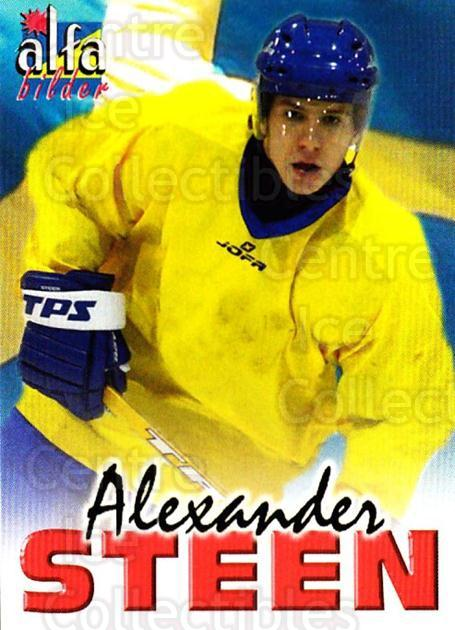 2004-05 Swedish Alfabilder Alfa Stars #39 Alexander Steen<br/>3 In Stock - $2.00 each - <a href=https://centericecollectibles.foxycart.com/cart?name=2004-05%20Swedish%20Alfabilder%20Alfa%20Stars%20%2339%20Alexander%20Steen...&quantity_max=3&price=$2.00&code=217814 class=foxycart> Buy it now! </a>