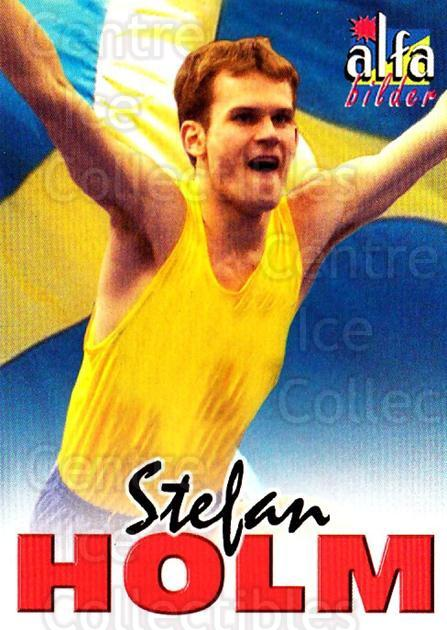 2004-05 Swedish Alfabilder Alfa Stars #61 Stefan Holm<br/>1 In Stock - $2.00 each - <a href=https://centericecollectibles.foxycart.com/cart?name=2004-05%20Swedish%20Alfabilder%20Alfa%20Stars%20%2361%20Stefan%20Holm...&quantity_max=1&price=$2.00&code=217834 class=foxycart> Buy it now! </a>