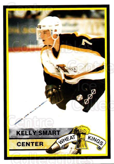 1994-95 Brandon Wheat Kings #18 Kelly Smart<br/>3 In Stock - $3.00 each - <a href=https://centericecollectibles.foxycart.com/cart?name=1994-95%20Brandon%20Wheat%20Kings%20%2318%20Kelly%20Smart...&quantity_max=3&price=$3.00&code=2184 class=foxycart> Buy it now! </a>