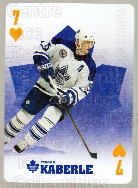 2005-06 Toronto Maple Leafs Playing Card #6 Tomas Kaberle<br/>3 In Stock - $2.00 each - <a href=https://centericecollectibles.foxycart.com/cart?name=2005-06%20Toronto%20Maple%20Leafs%20Playing%20Card%20%236%20Tomas%20Kaberle...&quantity_max=3&price=$2.00&code=218590 class=foxycart> Buy it now! </a>