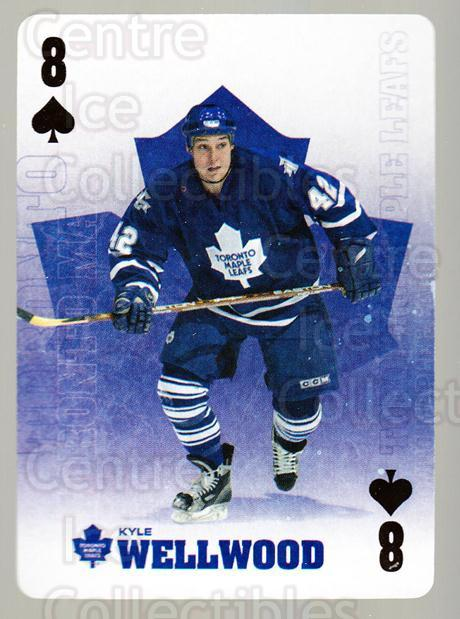 2005-06 Toronto Maple Leafs Playing Card #46 Kyle Wellwood<br/>2 In Stock - $2.00 each - <a href=https://centericecollectibles.foxycart.com/cart?name=2005-06%20Toronto%20Maple%20Leafs%20Playing%20Card%20%2346%20Kyle%20Wellwood...&quantity_max=2&price=$2.00&code=218630 class=foxycart> Buy it now! </a>
