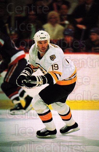 1989-90 Boston Bruins Postcards #10 Dave Poulin<br/>3 In Stock - $3.00 each - <a href=https://centericecollectibles.foxycart.com/cart?name=1989-90%20Boston%20Bruins%20Postcards%20%2310%20Dave%20Poulin...&quantity_max=3&price=$3.00&code=218882 class=foxycart> Buy it now! </a>