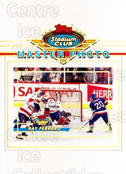 1993-94 Stadium Club Master Photos Winners Members Only One #6 Ray Ferraro<br/>3 In Stock - $5.00 each - <a href=https://centericecollectibles.foxycart.com/cart?name=1993-94%20Stadium%20Club%20Master%20Photos%20Winners%20Members%20Only%20One%20%236%20Ray%20Ferraro...&quantity_max=3&price=$5.00&code=218942 class=foxycart> Buy it now! </a>