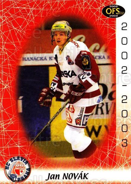 2002-03 Czech OFS #246 Jan Novak<br/>4 In Stock - $2.00 each - <a href=https://centericecollectibles.foxycart.com/cart?name=2002-03%20Czech%20OFS%20%23246%20Jan%20Novak...&price=$2.00&code=219160 class=foxycart> Buy it now! </a>