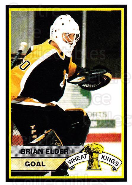 1994-95 Brandon Wheat Kings #9 Brian Elder<br/>1 In Stock - $3.00 each - <a href=https://centericecollectibles.foxycart.com/cart?name=1994-95%20Brandon%20Wheat%20Kings%20%239%20Brian%20Elder...&quantity_max=1&price=$3.00&code=2192 class=foxycart> Buy it now! </a>