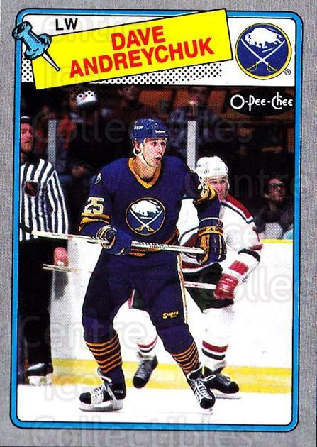1988-89 O-Pee-Chee Box Bottoms #M Dave Andreychuk<br/>8 In Stock - $3.00 each - <a href=https://centericecollectibles.foxycart.com/cart?name=1988-89%20O-Pee-Chee%20Box%20Bottoms%20%23M%20Dave%20Andreychuk...&quantity_max=8&price=$3.00&code=21940 class=foxycart> Buy it now! </a>