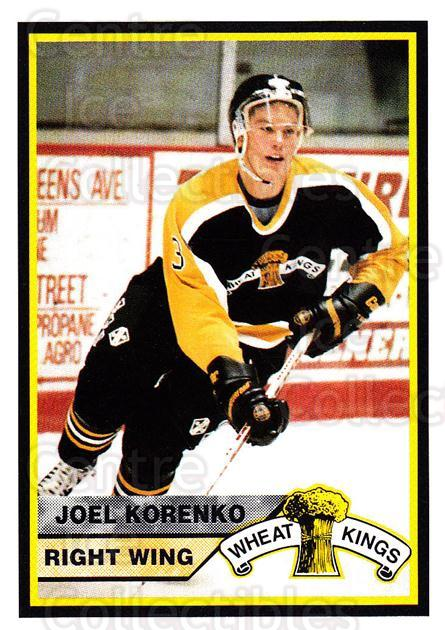 1994-95 Brandon Wheat Kings #13 Joel Korenko<br/>3 In Stock - $3.00 each - <a href=https://centericecollectibles.foxycart.com/cart?name=1994-95%20Brandon%20Wheat%20Kings%20%2313%20Joel%20Korenko...&quantity_max=3&price=$3.00&code=2194 class=foxycart> Buy it now! </a>