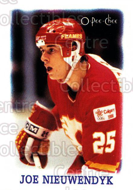 1988-89 O-Pee-Chee Minis #29 Joe Nieuwendyk<br/>8 In Stock - $2.00 each - <a href=https://centericecollectibles.foxycart.com/cart?name=1988-89%20O-Pee-Chee%20Minis%20%2329%20Joe%20Nieuwendyk...&quantity_max=8&price=$2.00&code=21962 class=foxycart> Buy it now! </a>