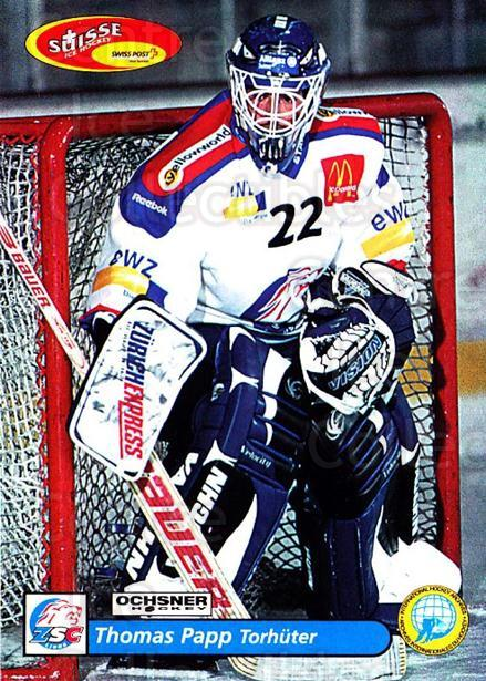 2001-02 Swiss Ice Hockey Cards #3 Thomas Papp<br/>2 In Stock - $2.00 each - <a href=https://centericecollectibles.foxycart.com/cart?name=2001-02%20Swiss%20Ice%20Hockey%20Cards%20%233%20Thomas%20Papp...&quantity_max=2&price=$2.00&code=220548 class=foxycart> Buy it now! </a>