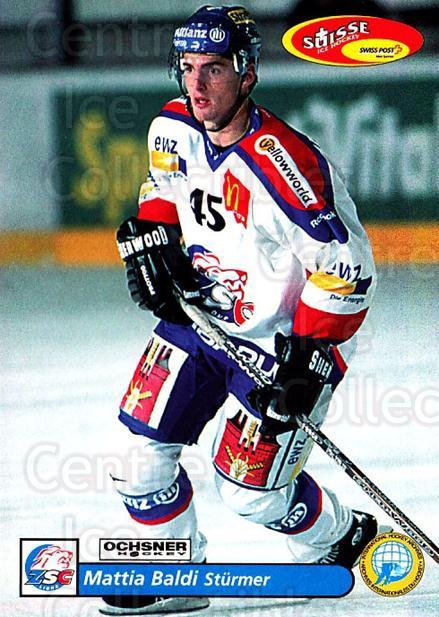 2001-02 Swiss Ice Hockey Cards #13 Mattia Baldi<br/>2 In Stock - $2.00 each - <a href=https://centericecollectibles.foxycart.com/cart?name=2001-02%20Swiss%20Ice%20Hockey%20Cards%20%2313%20Mattia%20Baldi...&quantity_max=2&price=$2.00&code=220558 class=foxycart> Buy it now! </a>