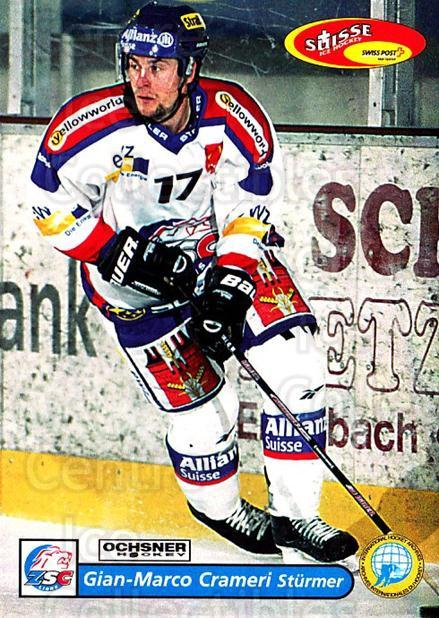 2001-02 Swiss Ice Hockey Cards #14 Gian-Marco Crameri<br/>2 In Stock - $2.00 each - <a href=https://centericecollectibles.foxycart.com/cart?name=2001-02%20Swiss%20Ice%20Hockey%20Cards%20%2314%20Gian-Marco%20Cram...&quantity_max=2&price=$2.00&code=220559 class=foxycart> Buy it now! </a>