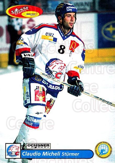 2001-02 Swiss Ice Hockey Cards #19 Claudio Micheli<br/>3 In Stock - $2.00 each - <a href=https://centericecollectibles.foxycart.com/cart?name=2001-02%20Swiss%20Ice%20Hockey%20Cards%20%2319%20Claudio%20Micheli...&quantity_max=3&price=$2.00&code=220564 class=foxycart> Buy it now! </a>