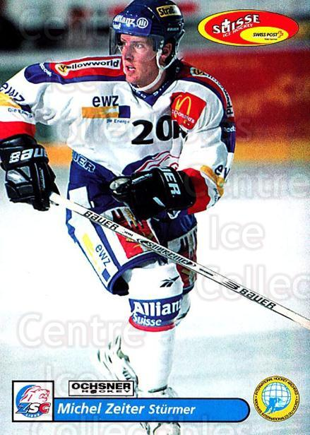 2001-02 Swiss Ice Hockey Cards #25 Michel Zeiter<br/>2 In Stock - $2.00 each - <a href=https://centericecollectibles.foxycart.com/cart?name=2001-02%20Swiss%20Ice%20Hockey%20Cards%20%2325%20Michel%20Zeiter...&quantity_max=2&price=$2.00&code=220570 class=foxycart> Buy it now! </a>