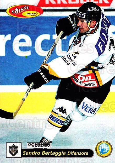 2001-02 Swiss Ice Hockey Cards #31 Sandro Bertaggia<br/>2 In Stock - $2.00 each - <a href=https://centericecollectibles.foxycart.com/cart?name=2001-02%20Swiss%20Ice%20Hockey%20Cards%20%2331%20Sandro%20Bertaggi...&quantity_max=2&price=$2.00&code=220576 class=foxycart> Buy it now! </a>