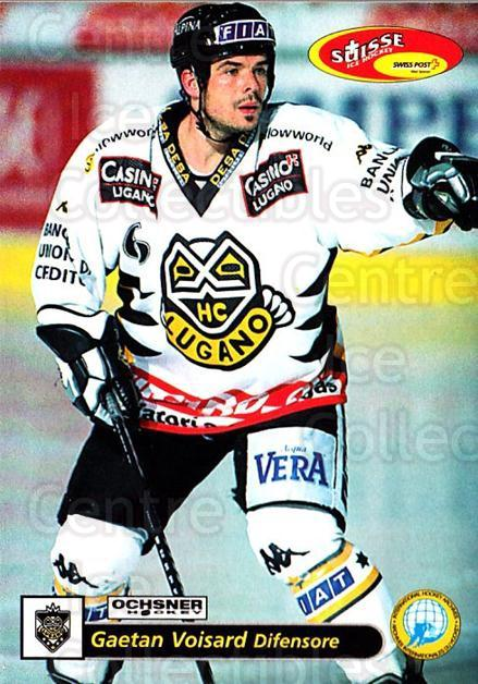 2001-02 Swiss Ice Hockey Cards #36 Gaetan Voisard<br/>2 In Stock - $2.00 each - <a href=https://centericecollectibles.foxycart.com/cart?name=2001-02%20Swiss%20Ice%20Hockey%20Cards%20%2336%20Gaetan%20Voisard...&quantity_max=2&price=$2.00&code=220581 class=foxycart> Buy it now! </a>