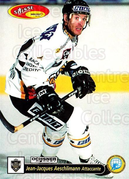 2001-02 Swiss Ice Hockey Cards #37 Jean-Jacques Aeschlimann<br/>2 In Stock - $2.00 each - <a href=https://centericecollectibles.foxycart.com/cart?name=2001-02%20Swiss%20Ice%20Hockey%20Cards%20%2337%20Jean-Jacques%20Ae...&quantity_max=2&price=$2.00&code=220582 class=foxycart> Buy it now! </a>