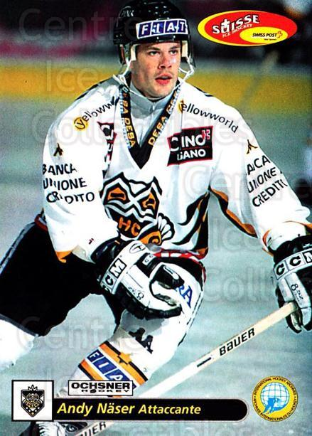 2001-02 Swiss Ice Hockey Cards #47 Andy Naser<br/>1 In Stock - $2.00 each - <a href=https://centericecollectibles.foxycart.com/cart?name=2001-02%20Swiss%20Ice%20Hockey%20Cards%20%2347%20Andy%20Naser...&quantity_max=1&price=$2.00&code=220592 class=foxycart> Buy it now! </a>