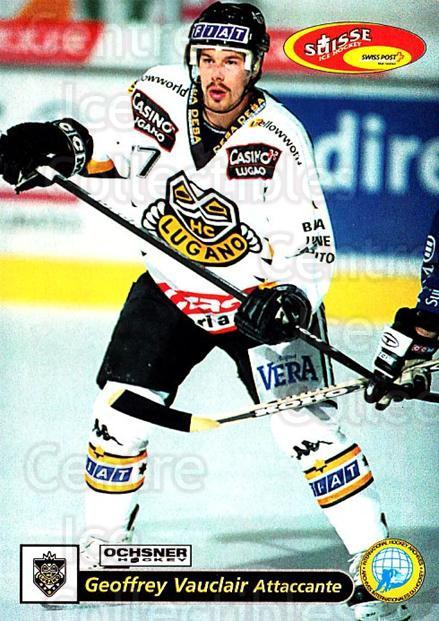 2001-02 Swiss Ice Hockey Cards #50 Geoffrey Vauclair<br/>3 In Stock - $2.00 each - <a href=https://centericecollectibles.foxycart.com/cart?name=2001-02%20Swiss%20Ice%20Hockey%20Cards%20%2350%20Geoffrey%20Vaucla...&quantity_max=3&price=$2.00&code=220595 class=foxycart> Buy it now! </a>