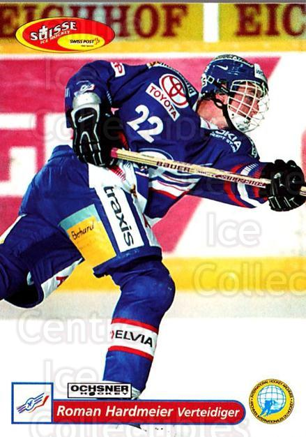2001-02 Swiss Ice Hockey Cards #58 Roman Hardmeier<br/>2 In Stock - $2.00 each - <a href=https://centericecollectibles.foxycart.com/cart?name=2001-02%20Swiss%20Ice%20Hockey%20Cards%20%2358%20Roman%20Hardmeier...&quantity_max=2&price=$2.00&code=220603 class=foxycart> Buy it now! </a>