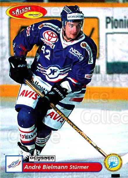 2001-02 Swiss Ice Hockey Cards #64 Andre Bielmann<br/>2 In Stock - $2.00 each - <a href=https://centericecollectibles.foxycart.com/cart?name=2001-02%20Swiss%20Ice%20Hockey%20Cards%20%2364%20Andre%20Bielmann...&quantity_max=2&price=$2.00&code=220609 class=foxycart> Buy it now! </a>